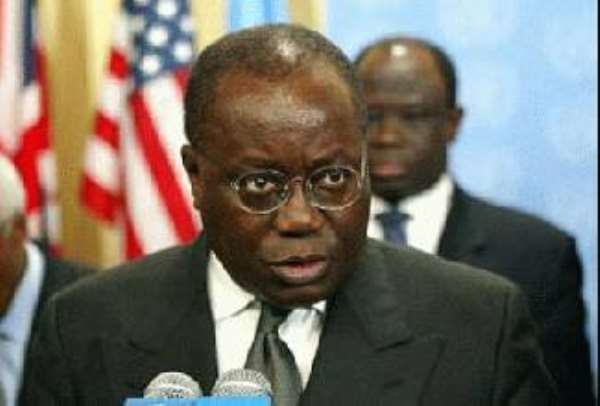 Akufo-Addo Brings Drugs Smuggling Issue To UN